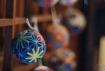 Japanese trditional handmade boll-Temari 手鞠/手毬