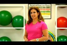 Exercise Tips  / Videos of exercise tips featuring founder of InterPlay Health Kristen Rzasa