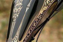 Pinstriping, Airbrush & Engraving
