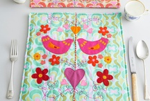Crafty creations - patchwork, quilt, sewing / by Anula