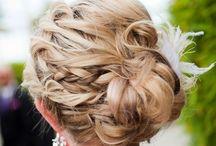 Bridesmaid hairup