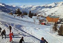 Les Arcs Vintage / Photos anciennes de la station de ski des Arcs en Savoie