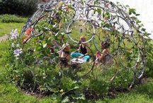 Children's gardens/Gardens for children / magical places for children to enjoy being in