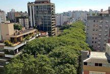 Que rua é esta em Porto Alegre?