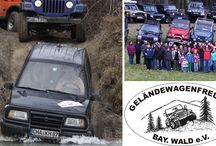 Geländewagen Clubs / Es gibt zahlreiche Clubs im deutschsprachigen Raum - einige davon haben wir per Steckbrief porträtiert.