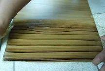 pintura madera