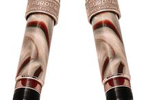 Aurora / Over a century, the name of Aurora Pens has been synonymous with excellent quality, exquisite taste, and fine Italian craftsmanship. Located at Turin, Italy, every individual Aurora Pen is influenced by the artistic legacy, renowned culture and design characteristic of the Italian tradition. Each pen is reference for further generation, dedicating to those who know to love time and are its masters. #AuroraPens #PensFromItaly http://www.penboutique.com/m-3-aurora.aspx