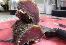 Sušenie mäsa