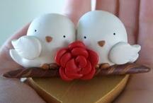 porcelana fría BODAS, AMOR, PAREJAS