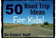 Children's travel ideas / Avoid the 'Are we there yet?""