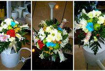 OGA.Bukiety,wianki,kwiaty... / Bukiety,wianki,kompozycje.. powstały z tego co akurat miałam pod reką.Nie ma znaczenia czy to są kwiaty zakupione w kwiaciarni,z przydomowego ogródka czy też zebrane podczas spaceru...wszystkie mają swoje piękno...