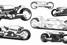 Motocycle concept art
