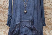 túnica vestido