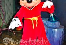 Mickey Mouse -red-