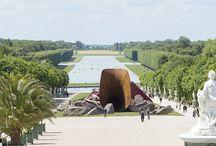 Contemporary & Versailles / Takashi Murakami, Jeff Koons - 2008, Anish Kapoor at Chateau de Versailles - 2015, Olafur Eliasson 2016