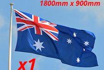 Australian Flags / Different sizes of Australian Flags