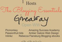 Giveaways and Special Offers / Giveaways and Special Offers we are participating in. :)