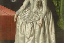 Прически 1580-1610