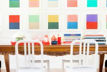 Home. Colorful Decoration