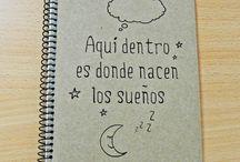Cuadernos de notas/Notebooks