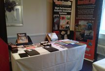 Conference, Newbury / Accorhotels: Regional Managers Conference at the Mercure Hotel, Elcot Park in Newbury. Both our InstaFloor and InstaCoustic products were exhibited and attracted a good crowd!
