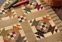 Kim Diehl / What a great mixture of applique and patchwork blocks and stunning borders