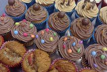 Cupcakes / Truly Scrumptious designer cupcakes.
