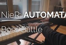 Piano Sheet Music / Piano Sheet Music and Videos of Videogames