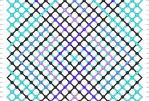 20 to 30 strings Macrame patterns