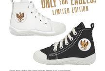 Nowa kolekcja LIMITED: ONLY FOR EAGLES / Przedstawiamy Wam nową kolekcję limitowaną sneakersów: ONLY FOR EAGLES! :)