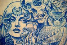 Taniele Sadd -  Sketchbook / by Marcio Lima