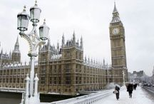 Winter Wonderland / A beautiful selection of wintery photos from my two favourite cities x
