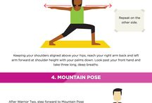 Neat fitness infographics / Legible Fitness infographics