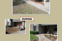 Before And After / Before and after pictures of our landscape projects.