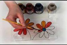 peinture vitrail