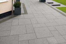 Granit belægning