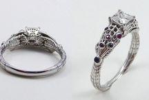 Alliances geeks - Bijoux Mariage
