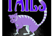 "Tails, Book 1, The Silver Wishes Series / ""Heart stopping, tail-dropping adventure from an award winning author."" Akule Pack's peaceful existence is shattered by the arrival of the hunters, seeking to harvest their silver tails as if they were treasure. Trapped, the silvertails hide in the foothills. Their only hope of survival is retrieving the Deep Magic. With no tail to lose Kywah volunteers, but without any magical tail sense will he be able to evade the hunters and return in time to save his pack from annihilation?"