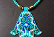Beading - Hamsa hands of protection