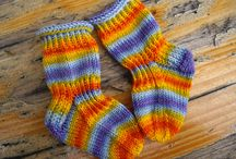 Knitting, socks