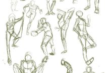 Poses: Humans / Ideas for Human poses