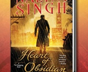 Heart of Obsidian  / Nalini Singh's newest Psy-Changeling Book