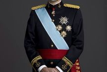 Almanach de Saxe Gotha - HM King Felipe VI of Spain / Felipe VI ( born 30 January 1968) is the King of Spain. He ascended to the throne on 19 June 2014 following the abdication of his father, King Juan Carlos I. As heir apparent to the throne, he previously bore the title of Prince of Asturias, and worked to support philanthropic causes and to promote international fellowship among Spanish-speaking countries.