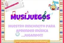Actividades música / by Maria Isabel Nuñez Fernandez