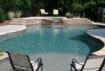 Pools, hot tubs and outdoor showers and deck ideas