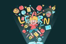 Kids Education Illustrations