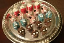 Regular show cake pops