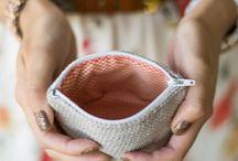 Crochet Clutch Pouch Purse Wallet