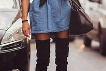 denim dress / denim dress