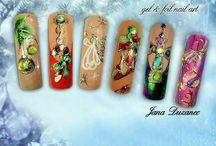 karácsonyi köröm minták